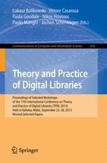 Theory and Practice of Digital Libraries -- TPDL 2013 Selected Workshops