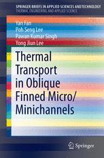Thermal Transport in Oblique Finned Micro/Minichannels