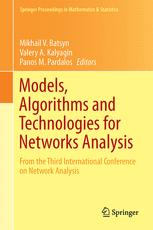Models, Algorithms and Technologies for Network Analysis