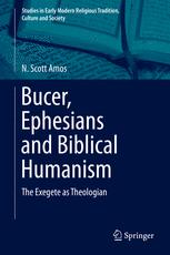 Bucer, Ephesians and Biblical Humanism