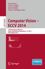 Computer Vision – ECCV 2014