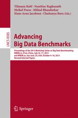 Advancing Big Data Benchmarks
