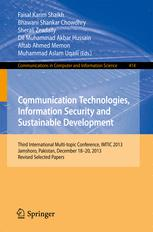 Communication Technologies, Information Security and Sustainable Development
