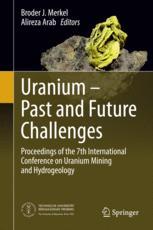 Uranium - Past and Future Challenges