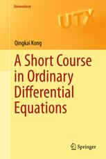 A Short Course in Ordinary Differential Equations