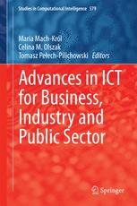 Advances in ICT for Business, Industry and Public Sector