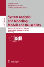 System Analysis and Modeling: Models and Reusability