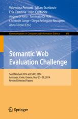 Semantic Web Evaluation Challenge