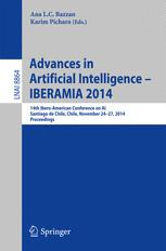 Advances in Artificial Intelligence -- IBERAMIA 2014