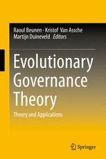 Evolutionary Governance Theory