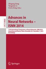 Advances in Neural Networks – ISNN 2014
