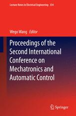 Proceedings of the Second International Conference on Mechatronics and Automatic Control