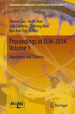 Proceedings of ELM-2014 Volume 1