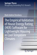 The Empirical Validation of House Energy Rating (HER) Software for Lightweight Housing in Cool Temperate Climates