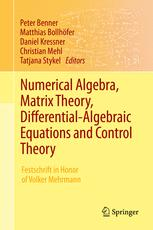 Numerical Algebra, Matrix Theory, Differential-Algebraic Equations and Control Theory