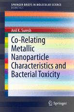 Co-Relating Metallic Nanoparticle Characteristics and Bacterial Toxicity