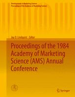 Proceedings of the 1984 Academy of Marketing Science (AMS) Annual Conference