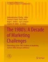 The 1980's: A Decade of Marketing Challenges