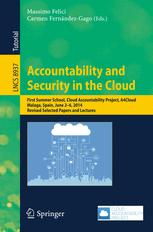 Accountability and Security in the Cloud