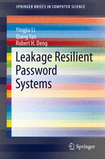 Leakage Resilient Password Systems