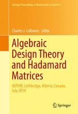 Algebraic Design Theory and Hadamard Matrices