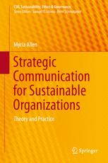 Strategic Communication for Sustainable Organizations