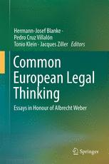 Common European Legal Thinking