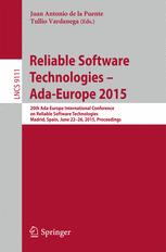 Reliable Software Technologies – Ada-Europe 2015