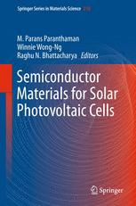 Semiconductor Materials for Solar Photovoltaic Cells