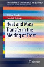 Heat and Mass Transfer in the Melting of Frost