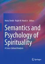 Semantics and Psychology of Spirituality