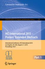 HCI International 2015 - Posters' Extended Abstracts