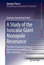 A Study of the Isoscalar Giant Monopole Resonance