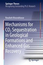 Mechanisms for CO2 Sequestration in Geological Formations and Enhanced Gas Recovery