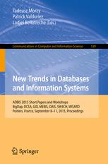 New Trends in Databases and Information Systems