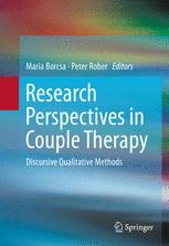 Research Perspectives in Couple Therapy