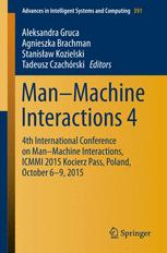 Man–Machine Interactions 4