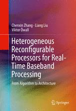 Heterogeneous Reconfigurable Processors for Real-Time Baseband Processing