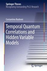 Temporal Quantum Correlations and Hidden Variable Models