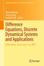 Difference Equations, Discrete Dynamical Systems and Applications