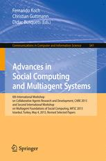 Advances in Social Computing and Multiagent Systems