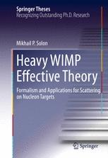 Heavy WIMP Effective Theory