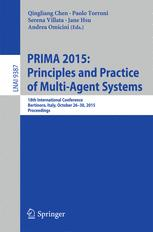 PRIMA 2015: Principles and Practice of Multi-Agent Systems