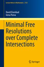 Minimal Free Resolutions over Complete Intersections