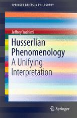Husserlian Phenomenology
