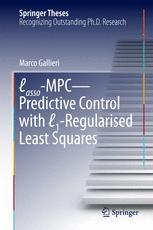Lasso-MPC – Predictive Control with ℓ1-Regularised Least Squares