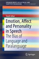 Emotion, Affect and Personality in Speech