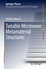 Tunable Microwave Metamaterial Structures