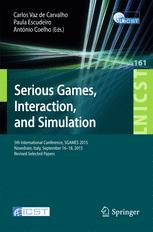 Serious Games, Interaction, and Simulation