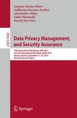 Data Privacy Management, and Security Assurance